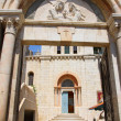 Armenian church in Armenian Quarter, Jerusalem - Foto de Stock