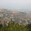 Panoramic view of golan heights - Stockfoto