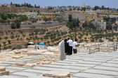 Cemetery on the Mount Olives — Stock Photo