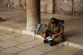 Israeli soldier — Stock Photo