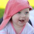 Smiling child portrait — Stockfoto