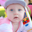 Stock Photo: Baby With toy