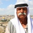 Stock Photo: Bedouin on Mount of Olives