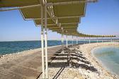 Dead sea vacation — Stock Photo