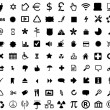 Stock Photo: Set of 126 web design icons