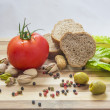 Stockfoto: Fresh organic food