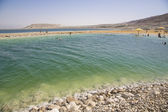 Dead Sea - unique natural health spa — Stock Photo