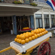 Stock Photo: Cheese auction in Edam, Holland