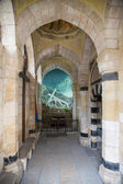 Via Dolorosa. The third station stop Jesus Christ. Jerusalem, Israel — Stockfoto