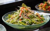 Fresh vegetarian salad — Stock Photo