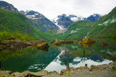 Bondhusvatnet 湖、ノルウェー — ストック写真