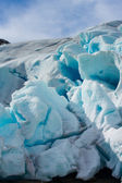 Famous glacier Nigardsbreen located in Norway. — Stock Photo