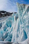 Glacier de boyabreen, norvège — Photo