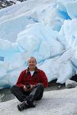 Ледник в Норвегии — Стоковое фото