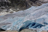 Nigardsbreen glacier, an arm of the Jostedals glacier, is a popular tourist attraction — Photo