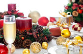 Fancy Christmas Table — Stock Photo