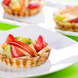 Fancy Fruit Pies — Stock Photo