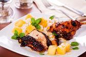 Oriental Chicken — Stock Photo