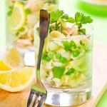 Peas And Pasta Salad — Stock Photo #21868781