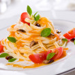 Fancy Pasta — Stock Photo