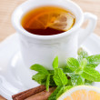 Mint And Tea — Stock Photo