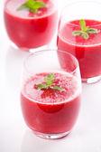 Fresh Strawberry Juice — Stock Photo