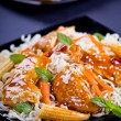 Chicken With Noodles — Stock Photo #32256333
