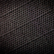 Black fabric texture background — Stock Photo