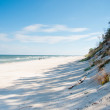 Panorama of  beach — Stock Photo