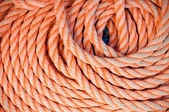 Orange rope on board - background — Stock Photo