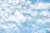 Clouds with blue sky — Stock Photo