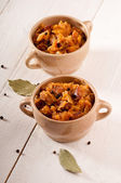 Bigos. The traditional Polish dish. — Stock Photo