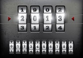 şifreli kilit — Stok Vektör