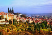 Prag prag dolu — Stok fotoğraf