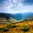 Carpathians peaks — Stock Photo