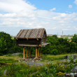 Stock Photo: Old cabin in Skansen park