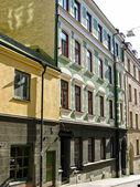 Buildings in Stockholm (Sweden) — Stock Photo