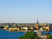 View on Stockholm and the Baltic Sea — Stock Photo