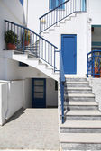 Street in Paros — Stock Photo