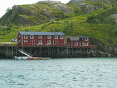 Landscape in the Lofoten islands — Stock Photo