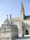 Igreja na bretanha — Foto Stock