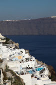 Santorini islands in the Cyclades — Stock Photo