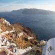 Oia on Santorini island in the Cyclades — Stock Photo