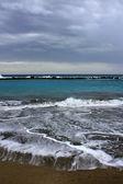 Bouře na moři — Stock fotografie