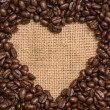 Love of coffee — Stock Photo