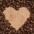 Stock Photo: Love of coffee