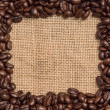 Royalty-Free Stock Photo: Coffee bean frame