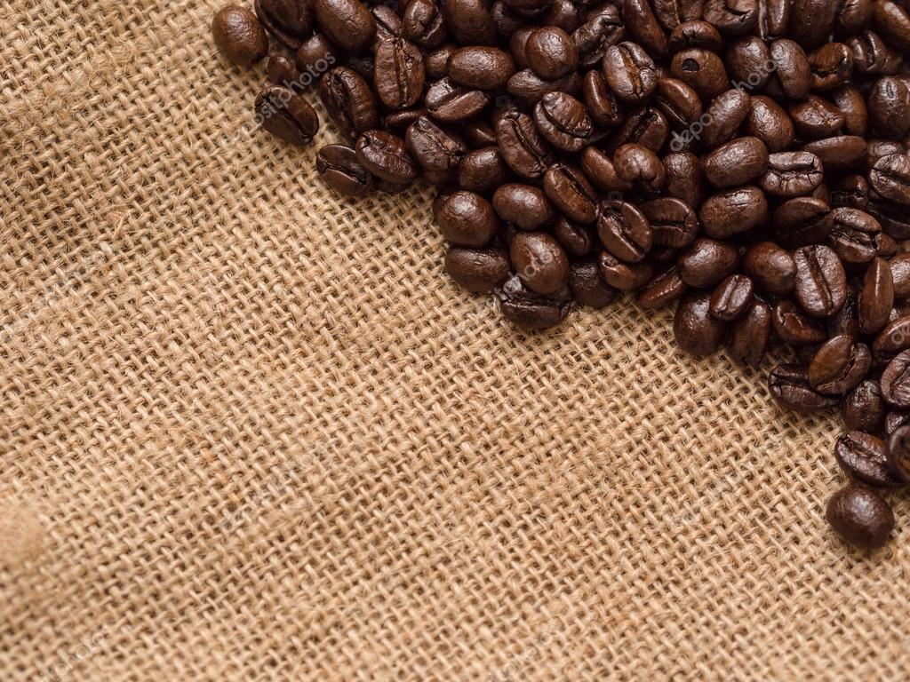 Coffee beans background  Stock Photo #12556726