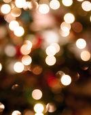 абстрактный рождественские огни — Стоковое фото