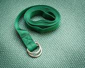 Yoga strap — Stock Photo